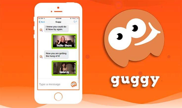 Coba Pakai Guggy Biar Chatting Tambah Seru Dengan GIF Lucu
