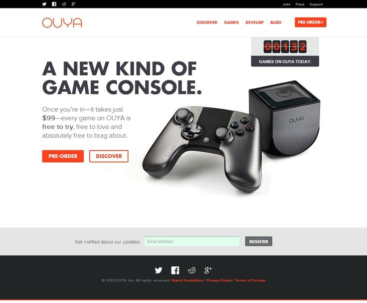 OUYA   HTML5 Website