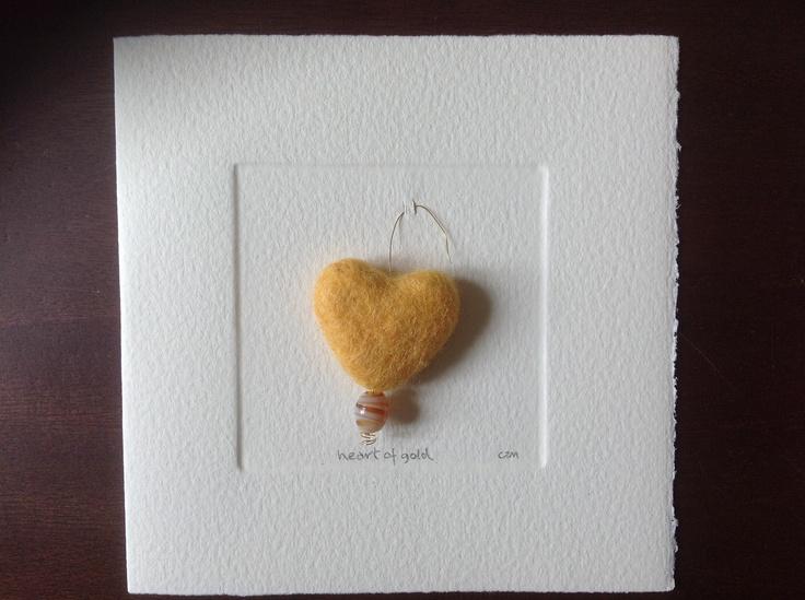 MISU card design   heart of gold