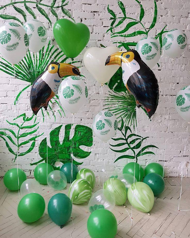 Наши красавцы в полный рост ___________________________ Туканы по 450 ₽ Сердечки по 150 ₽ Шарики с папоротником по 70 ₽ На полу, шарики, надутые воздухом: Прозрачные с конфетти по 45 ₽ Зеленые по 20 ₽ ___________________________ Для заказа пишите/звоните +7 981 854 59 69