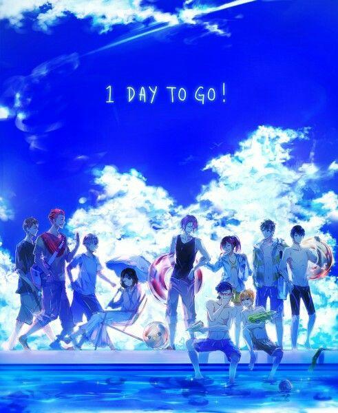 Free! - Haruka, Makoto, Rin, Nagisa, Rei, Sousuke, Gou, Seijuro, Aiichiro and Miho
