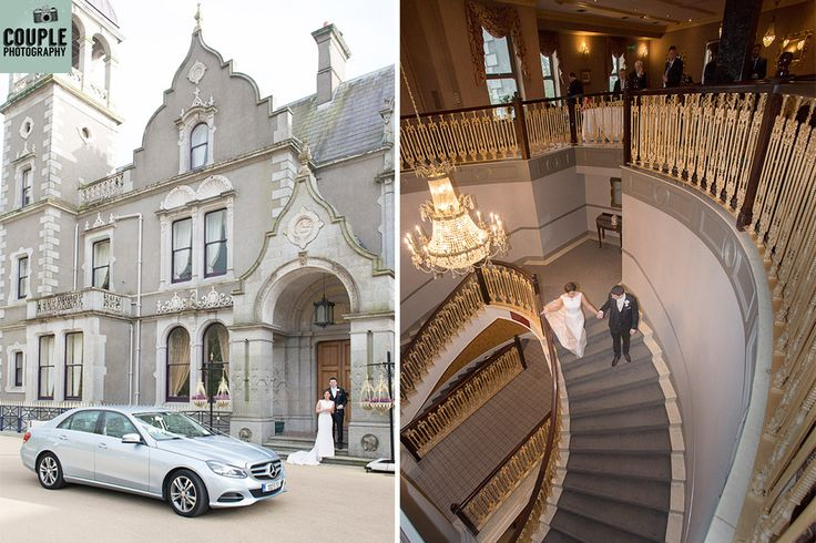 The magic begins at Killashee House Hotel.  Wedding by http://www.couple.ie
