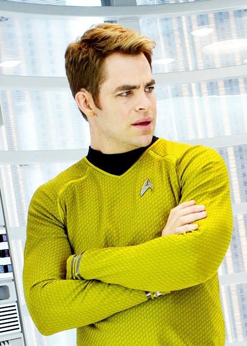 Chris Pine. Kirk for the next generation.