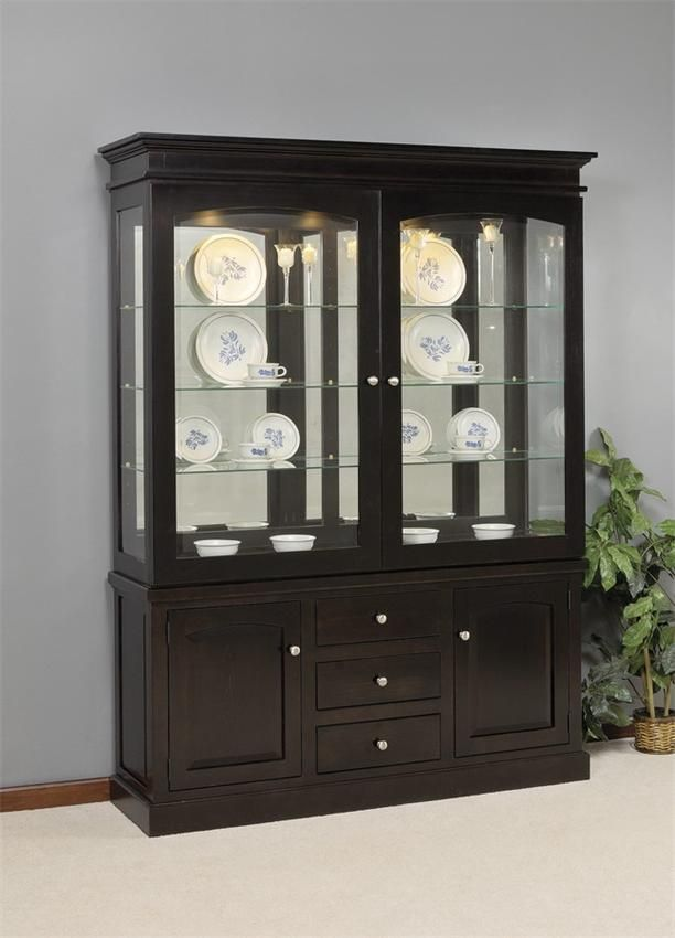 best 25 hutch decorating ideas on pinterest china cabinet decor kitchen hutch redo and. Black Bedroom Furniture Sets. Home Design Ideas