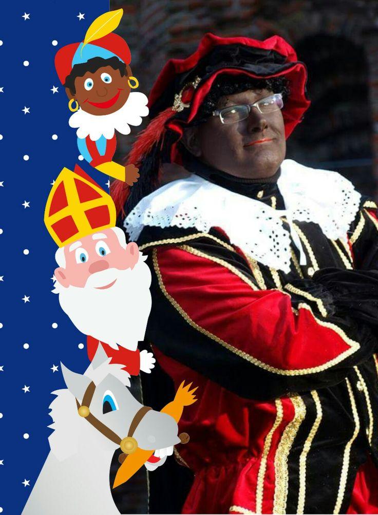 Sinterklaas Piet Franco