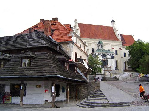 Church in Kazimierz Dolny - this delightful small town is in Poland