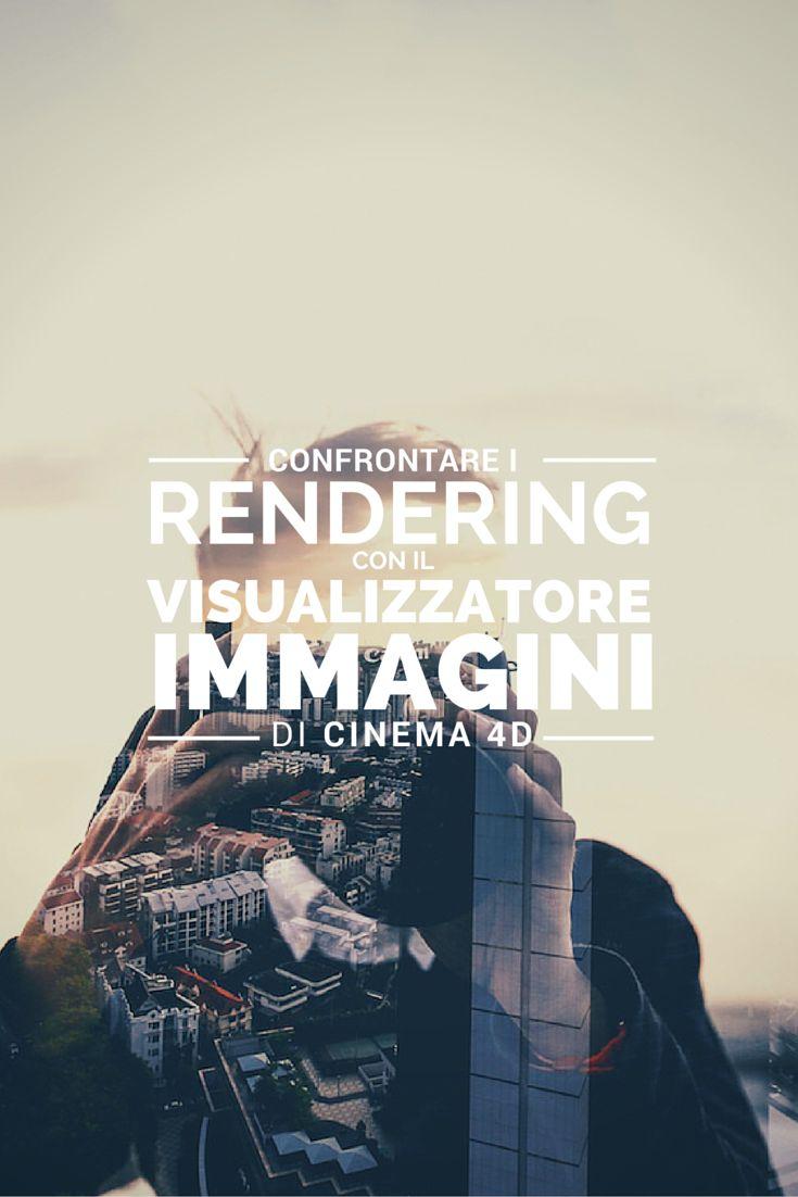 Carlo Macchiavello confronta i rendering con il visualizzatore immagini di Cinema 4D. Clicca qui per iscriverti subito al corso Cinema4D da noi: http://www.espero.it/corsi-cinema-4d?utm_source=pinterest&utm_medium=pin&utm_campaign=3DArchitecture