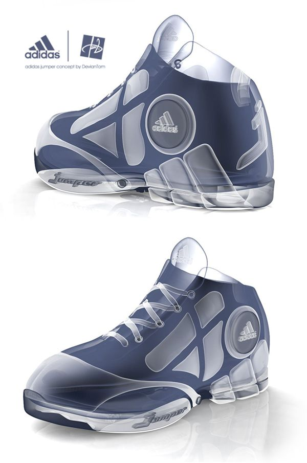 b9c7752b0c3b Adidas basketball shoe designs on Behance