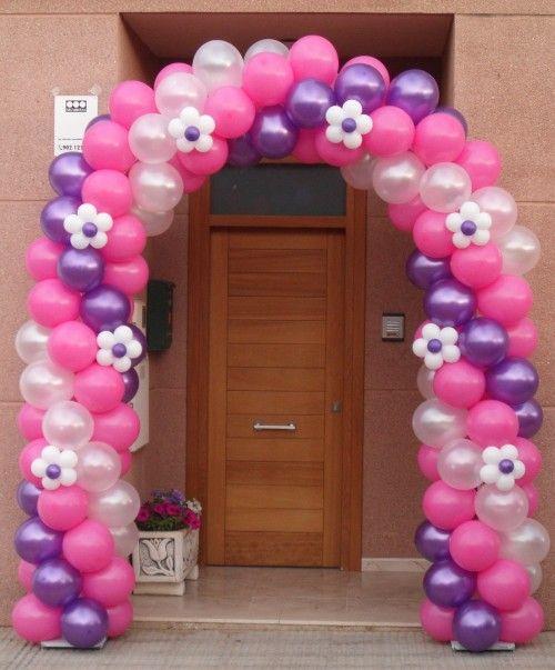 balloon arch/ arco de globos
