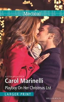 Mills & Boon™: Playboy On Her Christmas List by Carol Marinelli