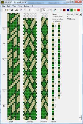 8 round bead crochet Узоры для вязаных жгутиков-шнуриков 3 | biser.info - всё о бисере и бисерном творчестве
