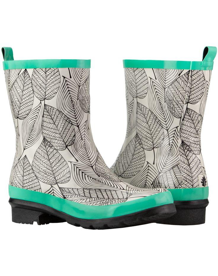 Women's Rain Boots – Noxon – Mint Leaf | Oaki