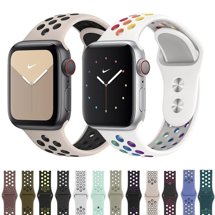 NIKE Sport Band for Apple Watch Strap 38mm, 40mm, 42mm, 44