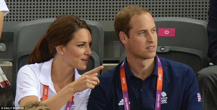 Duke and Duchess of Cambridge arrive at the velodrome in matching Team GB polo shirts