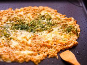 豆腐の明太チーズもんじゃ焼き レシピブログ