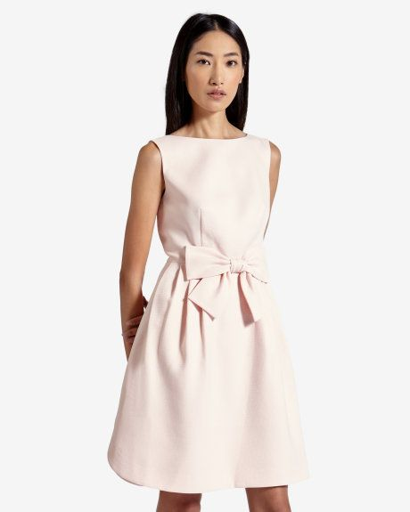 Bow dress - Pink | Dresses | Ted Baker UK