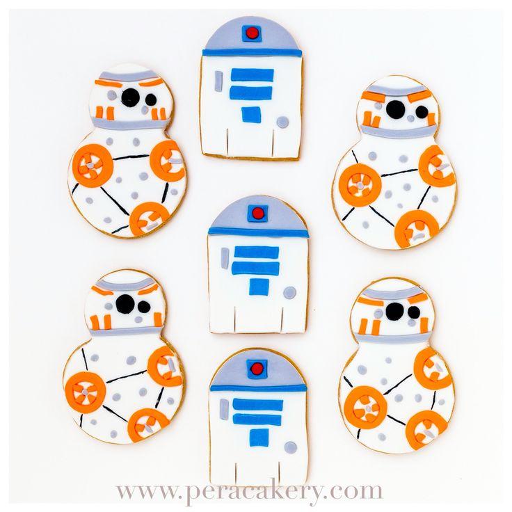 Starwars themed cookies