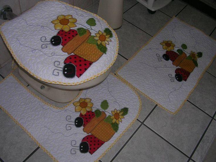 Jogo de banheiro  joaninha