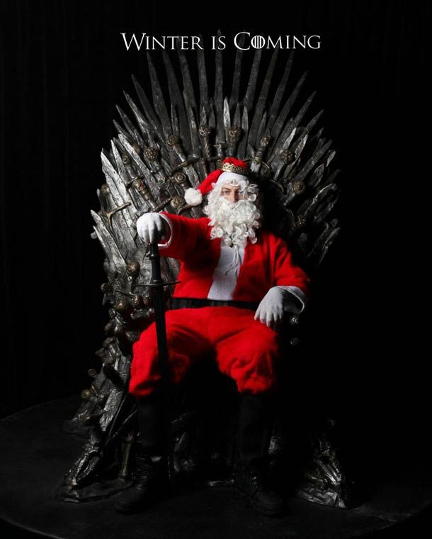 Best Christmas cards this year?... Winter is coming! Haha i'd get this for sue but she wouldnt get it,maybe for the new babys 1st b-day