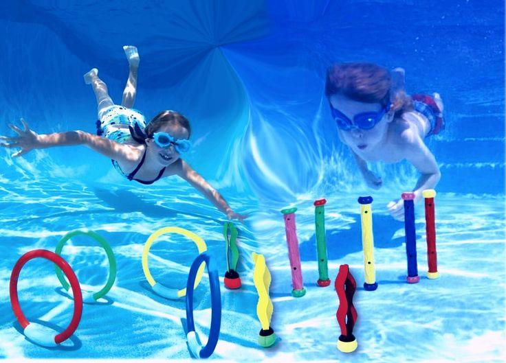 Amazon Com Intex Underwater Pool Diving Toys Assortment
