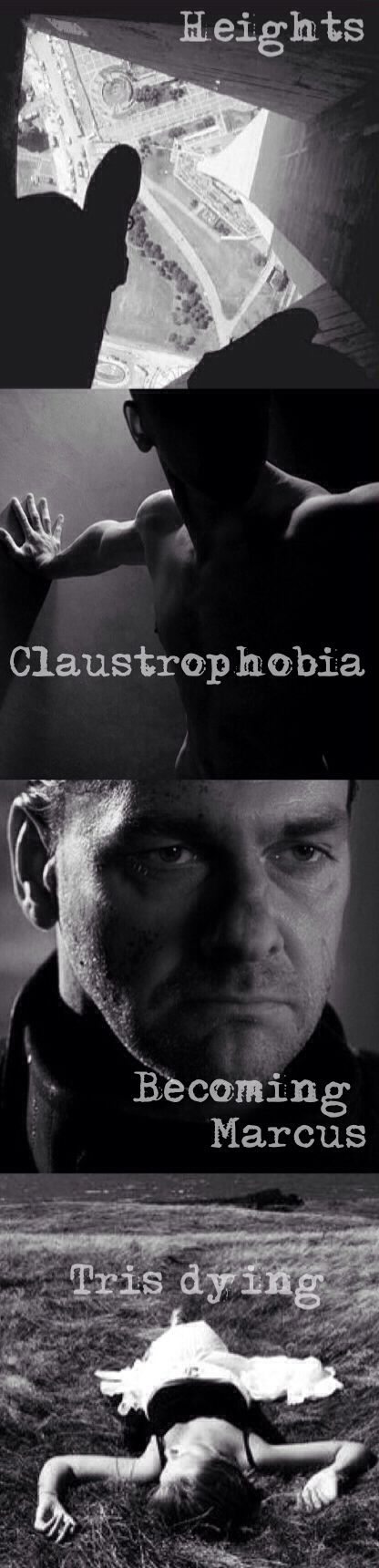 Four's New List of Fears ~Divergent~ ~Insurgent~ ~Allegiant~