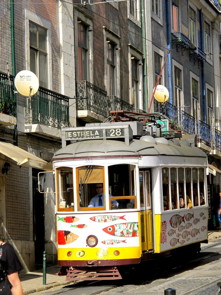Trolly in Lisboa, Portugal -- been to Lisbon twice. Loved it each time.