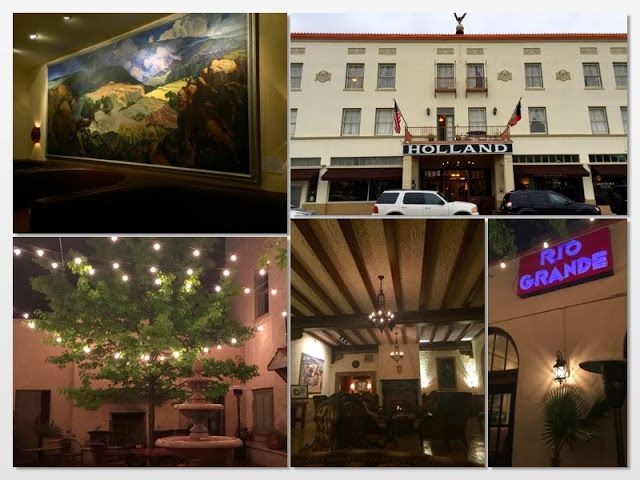 The Holland Hotel, Alpine, TX. Historic Hotel at the Gateway to West Texas and Big Bend National Park. Stay here on your way to explore Marfa or the park.