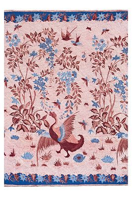 Pekalongan, Java, cc. 1890s Skirt cloth kain panjang Cotton, natural dyes; batik tulis 2011.38 [Mick Richards Photography]
