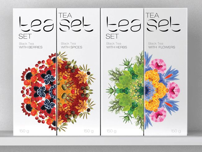 Tea Set (Student Work) on Packaging of the World - Creative Package Design Gallery