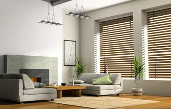 Add the warmth and natural elegance of wood to your windows, in a range of shades to match your décor and furnishings. Wood Venetian blinds are suitable for homes and offices, and are made to measure, ensuring that they  fit your windows perfectly. Blending warmth with a natural, sleek style, Wood Venetian blinds are the ideal finishing touch for the contemporary room.