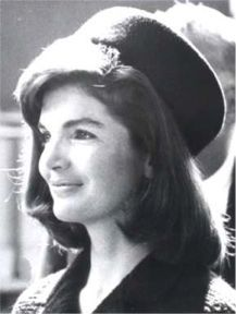 """Jackie Kennedy 1929-1994~ """"I think the major role of the First Lady is to take care of the President so that he can best serve the people. And not to fail her family, her husband, and children.""""   Kennedy, J~~John F. Kennedy's wife was the first first lady to hire a press secretary and a White House curator. She also won an Emmy Award for her television tour of the White House."""