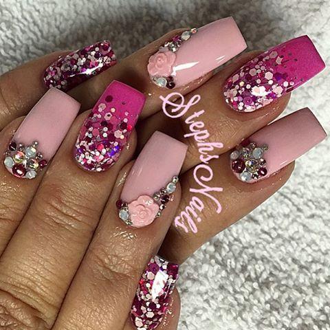 Stephanie Loesch @_stephsnails_ And Valentines Na...Instagram photo | Websta (Webstagram) #_stephsnails_