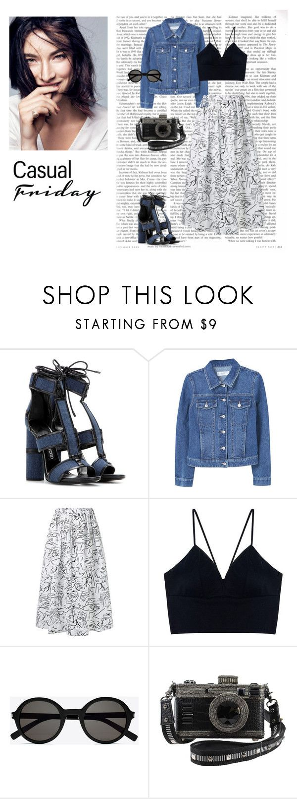 """""""25/08"""" by dorey on Polyvore featuring Tom Ford, MANGO, Kenzo and Yves Saint Laurent"""