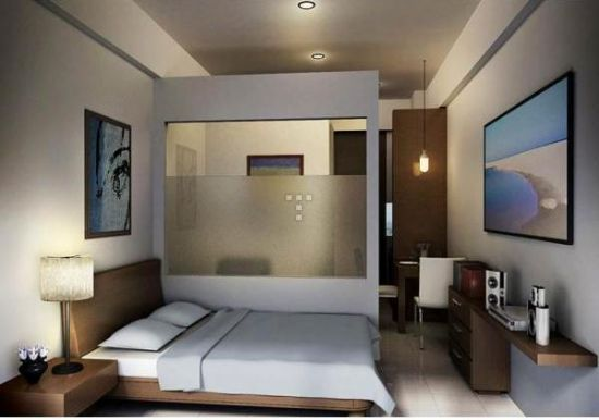 Ide Desain Apartemen Studio Minimalis » Gambar 5