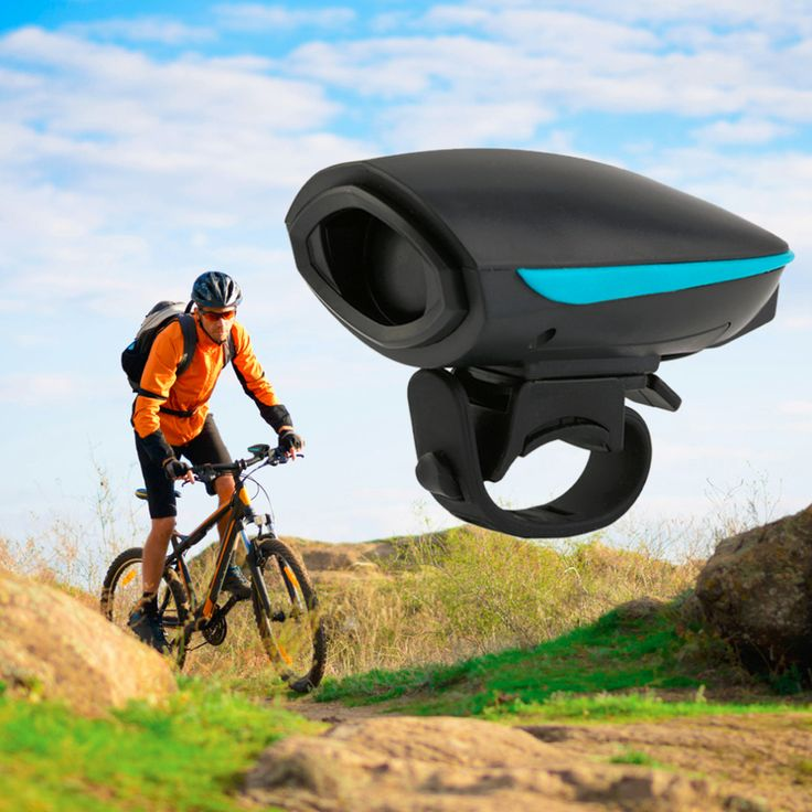 Wholesale LOUD Sounding 140db  Cycling Bike Bicycle Safety Electric Horn Bell Universal Hornet Bike Alarm Ring Free Shipping