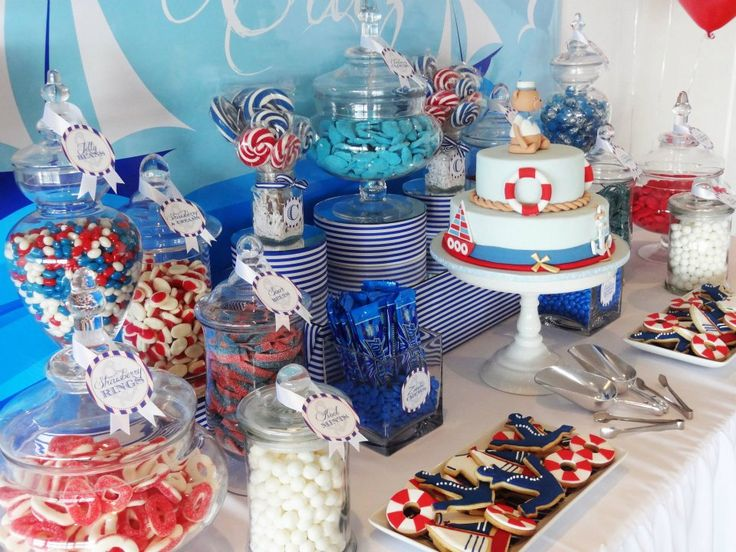 nautical candy bar