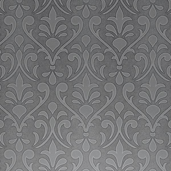 Dise o tipo barroco en piel en este papel pintado de la - Tipos de papel pintado ...