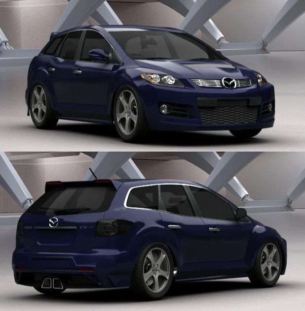 Automobile Mazda Tuner Cars: 17 Best Images About Mazda CX-7 On Pinterest