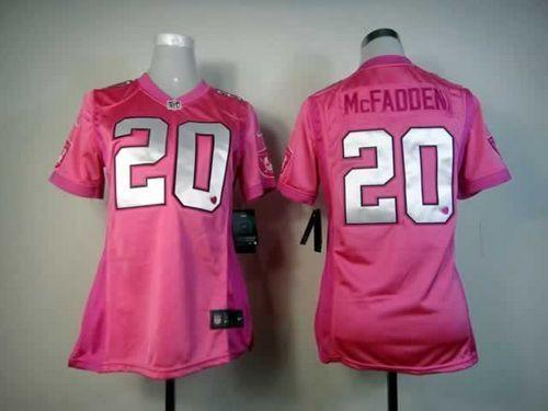 ... Jersey Cheap Nike Oakland Raiders 20 Darren McFadden Elite Pink Be Luv  d Fashion Women Stitched ... 4808ea0b2