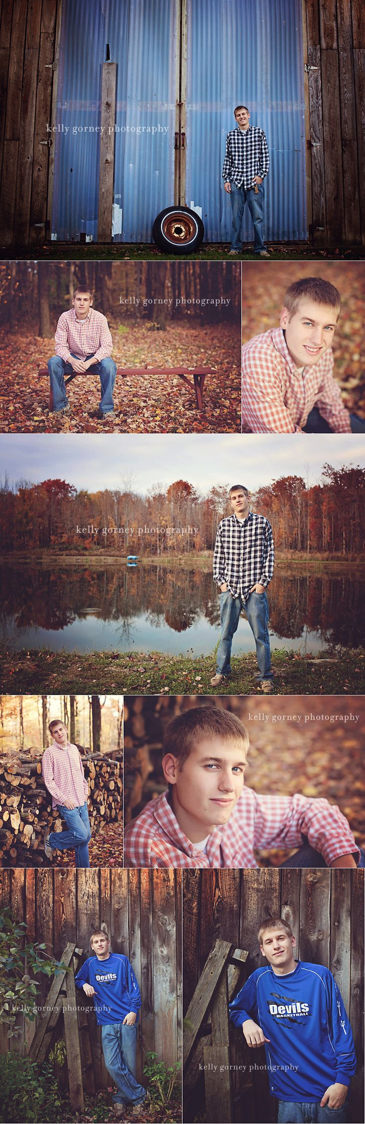 Senior Boy Session | Kelly Gorney Photography