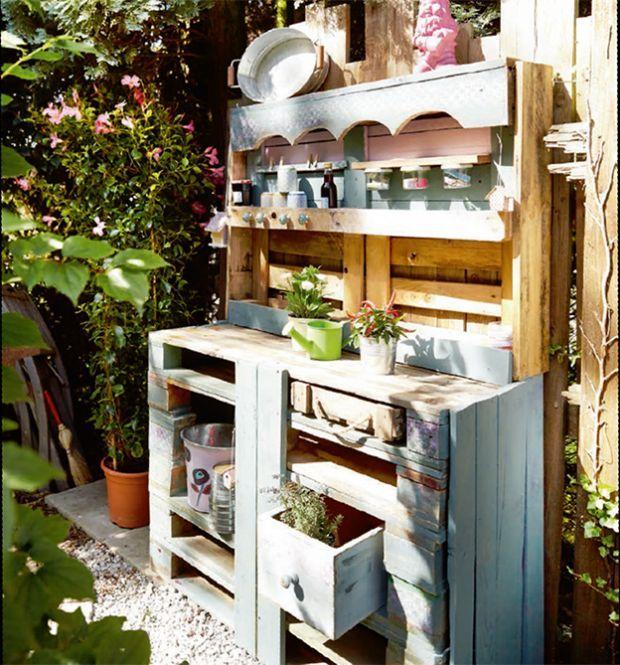 Outdoor | Möbel Aus Paletten Bauen: Recycelte ...