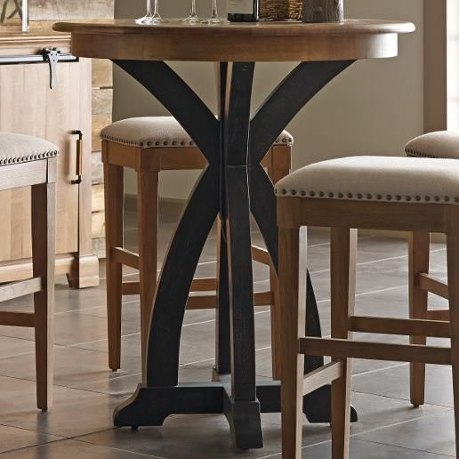 Stone Ridge Round Bistro Table by Kincaid Furniture