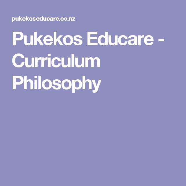 Pukekos Educare - Curriculum Philosophy