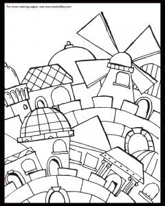 Pin on Jewish Coloring Pages