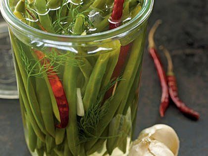 Spicy Pickled Green Beans
