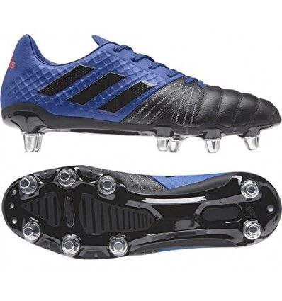Adidas Kakari Elite SG Collegiate Blue A lightweight mid range priced rugby boot for the back row forward offer excellent stability and traction for the driving player.