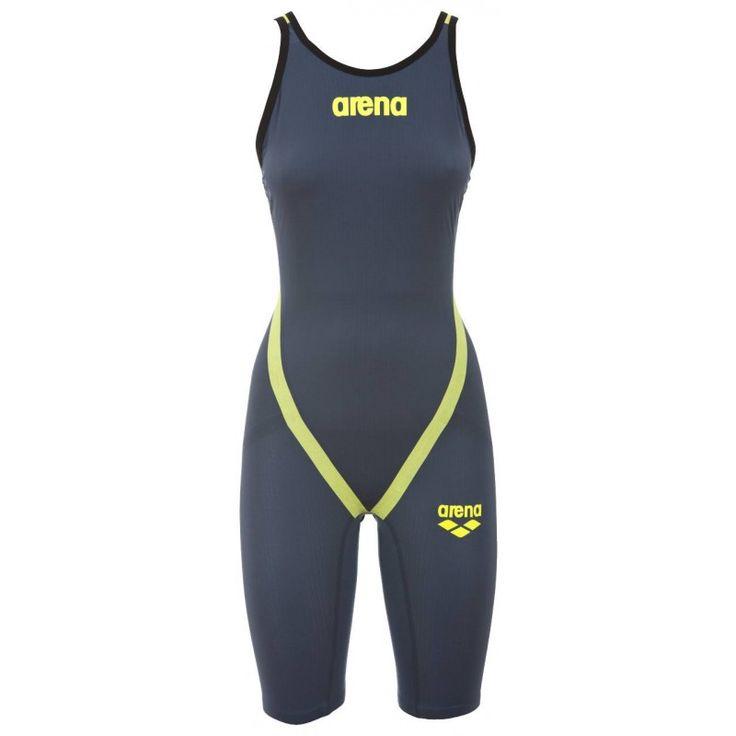 Costume nuoto da gara donna   Arena Powerskin Carbon flex limited edition grey