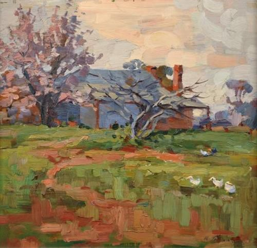 horace trenerry paintings | Springtime - Horace Trenerry - WikiArt.org