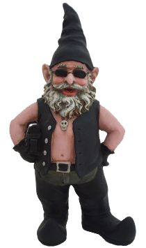 Biker Gnome – GardenFun.com