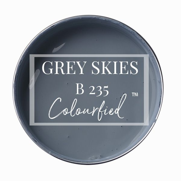 Colourfied's new colour - Grey Skies